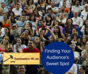 find your audience's sweet spot
